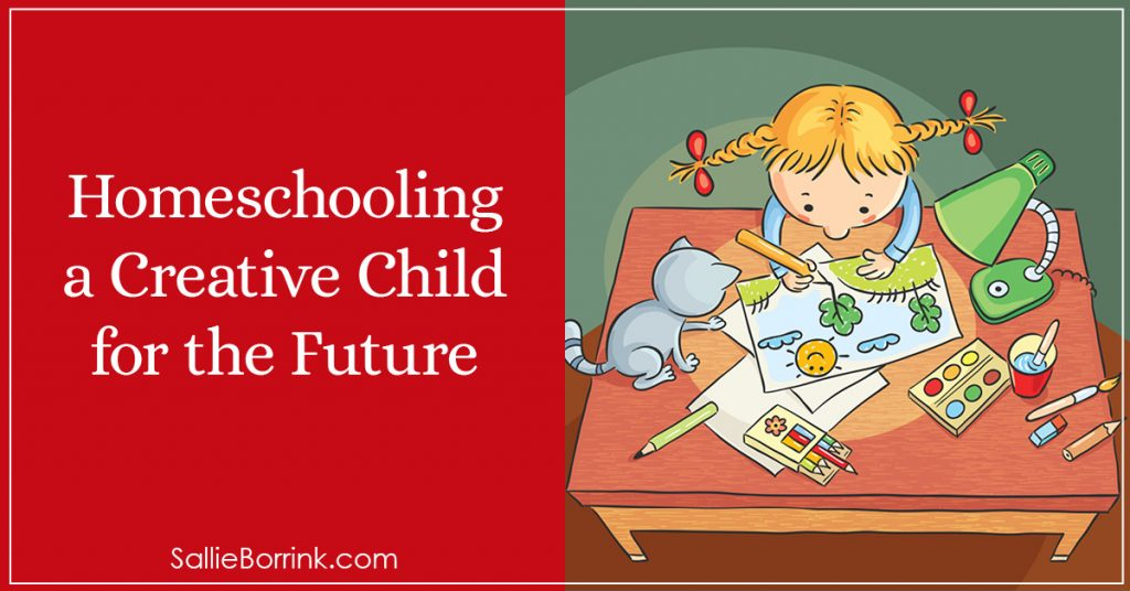 Homeschooling a Creative Child for the Future 2