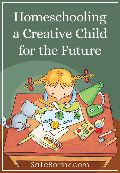Homeschooling a Creative Child for the Future