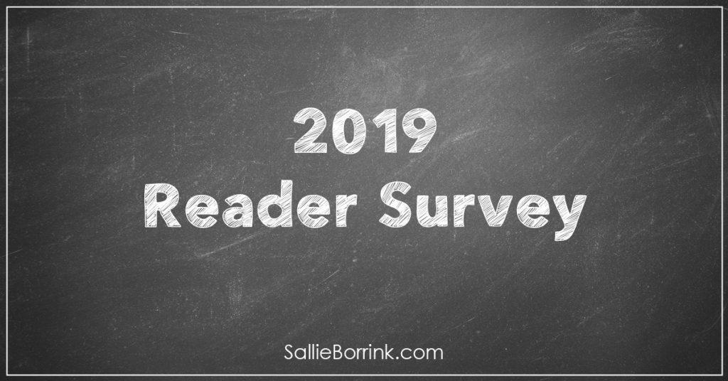 2019 Reader Survey 2
