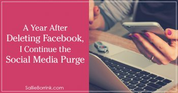 A Year After Deleting Facebook, I Continue the Social Media Purge 2