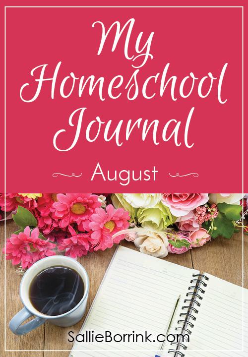 My Homeschool Journal - August