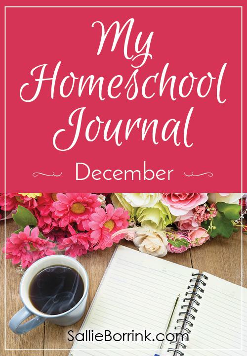 My Homeschool Journal - December