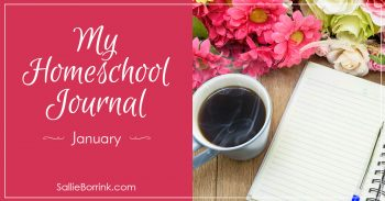 My Homeschool Journal - January 2