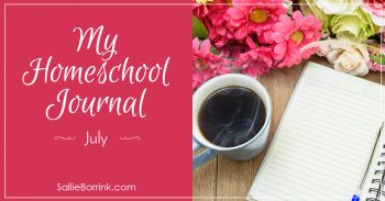 My Homeschool Journal - July 2