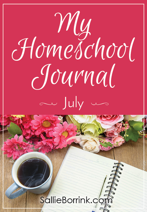 My Homeschool Journal - July