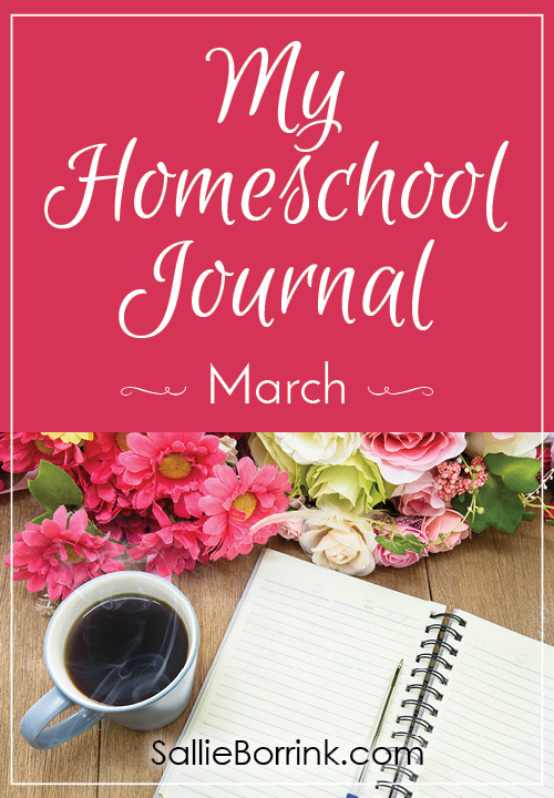 My Homeschool Journal - March