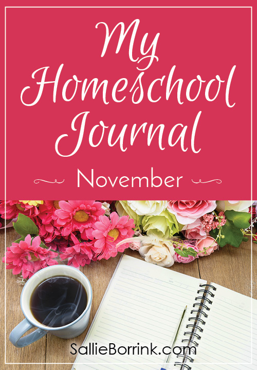 My Homeschool Journal - November