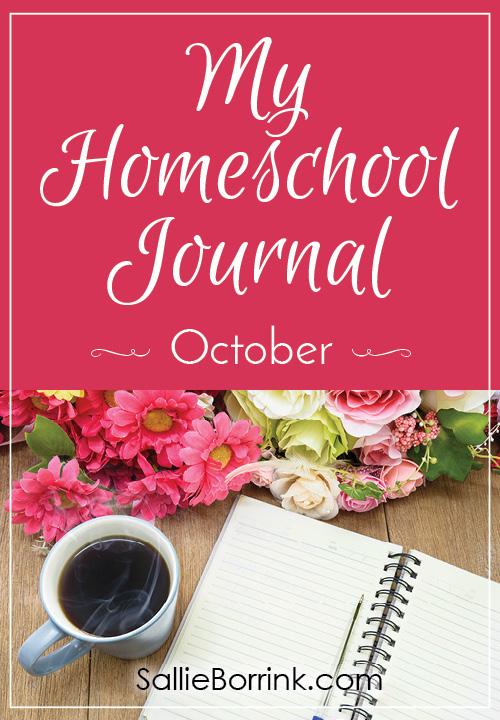 My Homeschool Journal - October