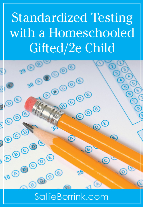 Standardized Testing with a Homeschooled Gifted:2e Child