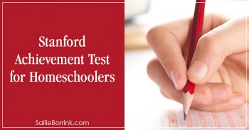 Stanford Achievement Test for Homeschoolers 2