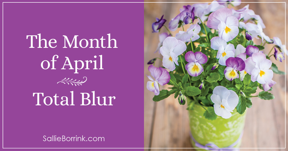 The Month of April - Total Blur 2