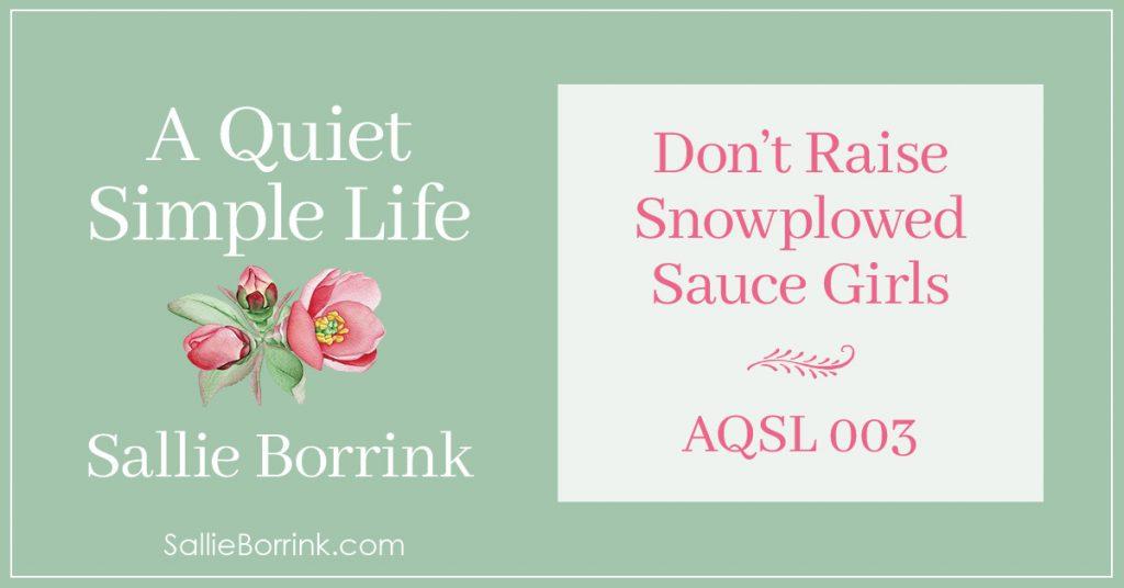 AQSL 003 - Don't Raise Snowplowed Sauce Girls 2