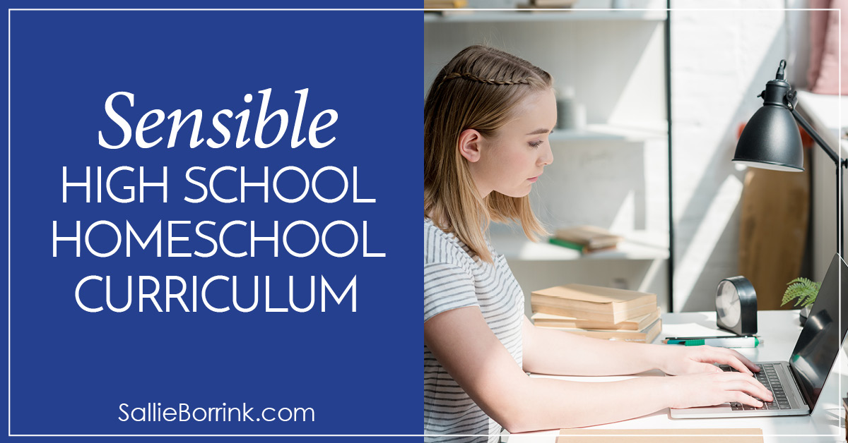Sensible High School Homeschool Curriculum 2