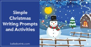 Simple Christmas Writing Prompts and Activities 2