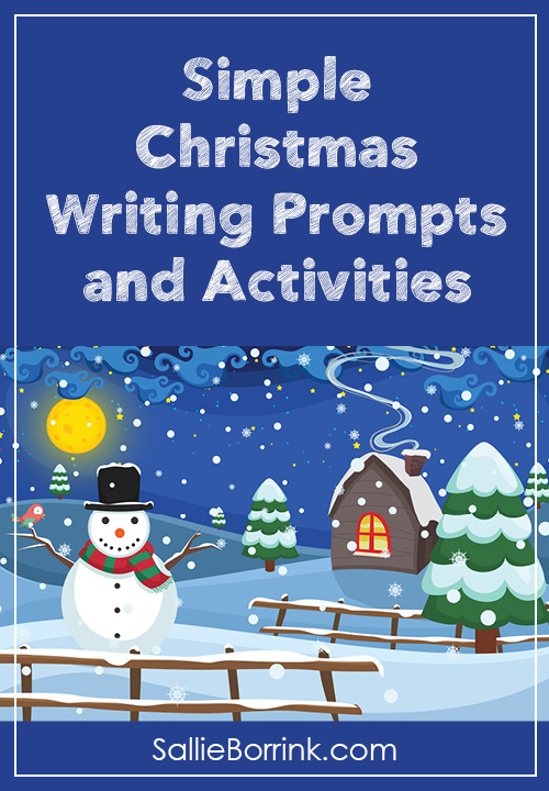 Simple Christmas Writing Prompts, and Activities