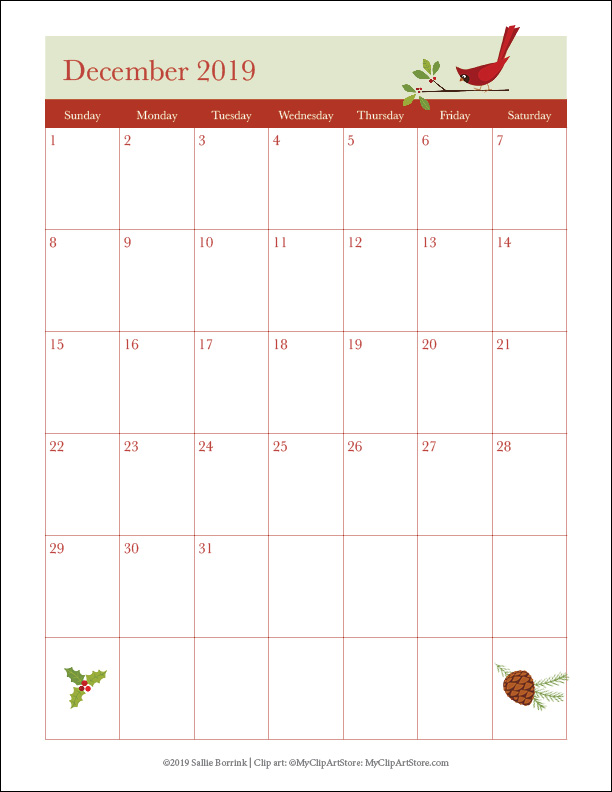 A Cozy Christmas Planner