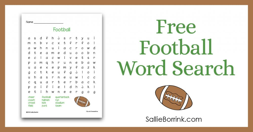 graphic relating to Word Search Printable for Kids titled No cost Soccer Phrase Seem Printable for Small children - A Relaxed