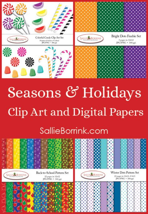 Seasons and Holidays Clip Art & Digital Papers