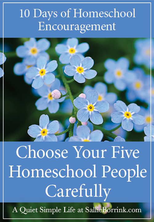 Choose Your Five Homeschool People Carefully