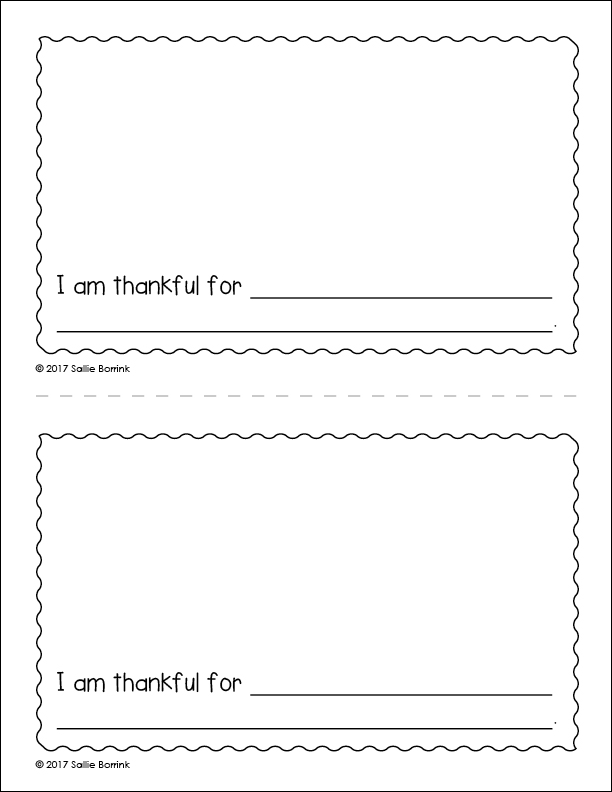 My Thanksgiving Celebration Little Book page 2