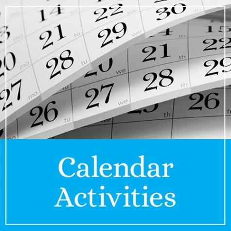 Calendar Activties