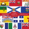 Canadian Provincial and Territorial Flags Clip Art