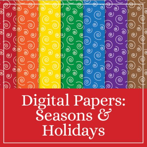 Digital Papers: Seasons & Holidays