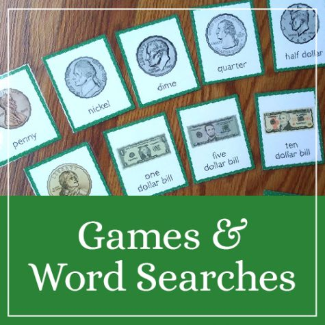 In My Shop: Games & Word Searches