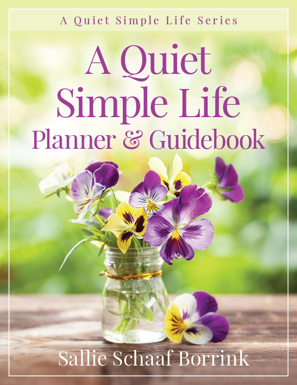 A Quiet Simple Life Planner & Guidebook
