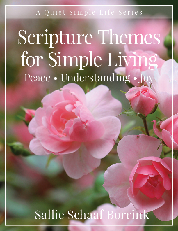 Scripture Themes for Simple Living – Peace, Understanding, and Joy