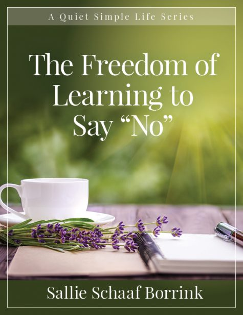 "The Freedom of Learning to Say ""No"""
