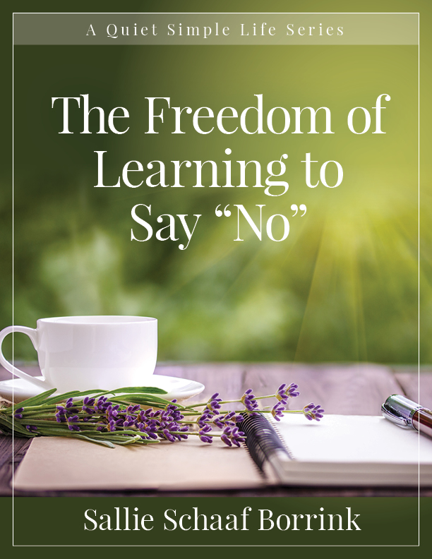 """The Freedom of Learning to Say """"No"""""""