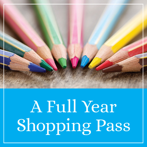 A Full Year Shopping Pass