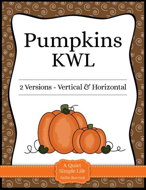 Pumpkins KWL