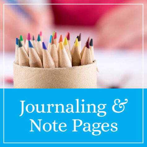 Journaling & Note Pages