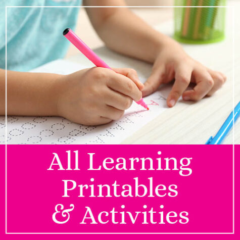 All Learning Printables & Activities