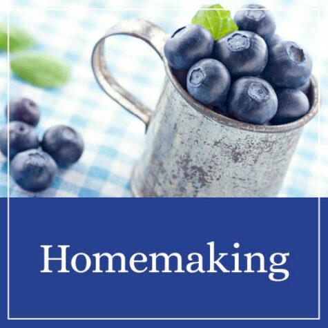 In My Shop: Homemaking Helps